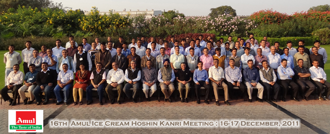 16th Amul Ice Cream Hoshin Kanri Meeting