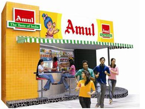 Amul Preferred Outlets :: Amul - The Taste of India