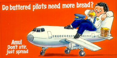 Do buttered pilots need more bread ?