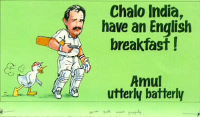 Chalo India, have an English breakfast!
