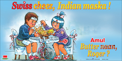 Swiss cheez, Indian maska !