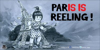 PARIA IS REELING !