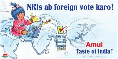 NRIs ab foreign vote karo!