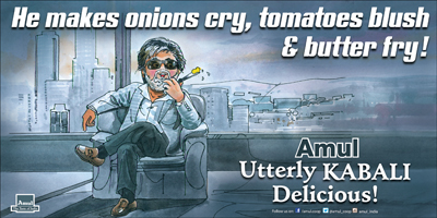 He makes onions cry, tomatoes blush & butter fry!