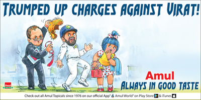 TRUMPED UP CHARGES AGAINST VIRAT!