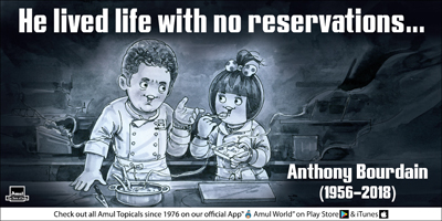 He lived life with no reservations…