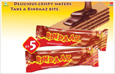 Amul wafer chocolates