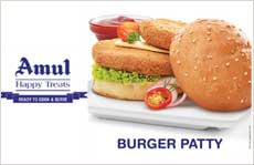 Amul Veg Burger Patty
