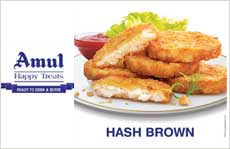 Amul Hash Brown