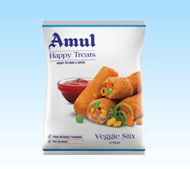 Amul Veggie Stix   Amul - The Taste Of