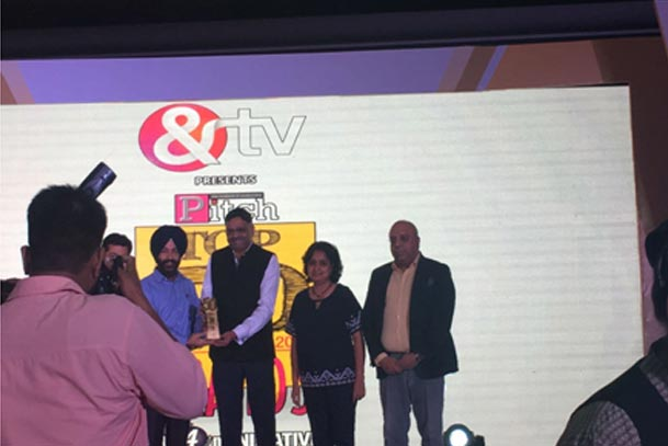 Pitch Top 50 brands Award—Amul